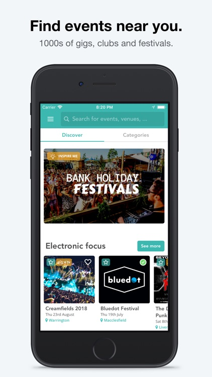 Skiddle: Events and Tickets screenshot-0