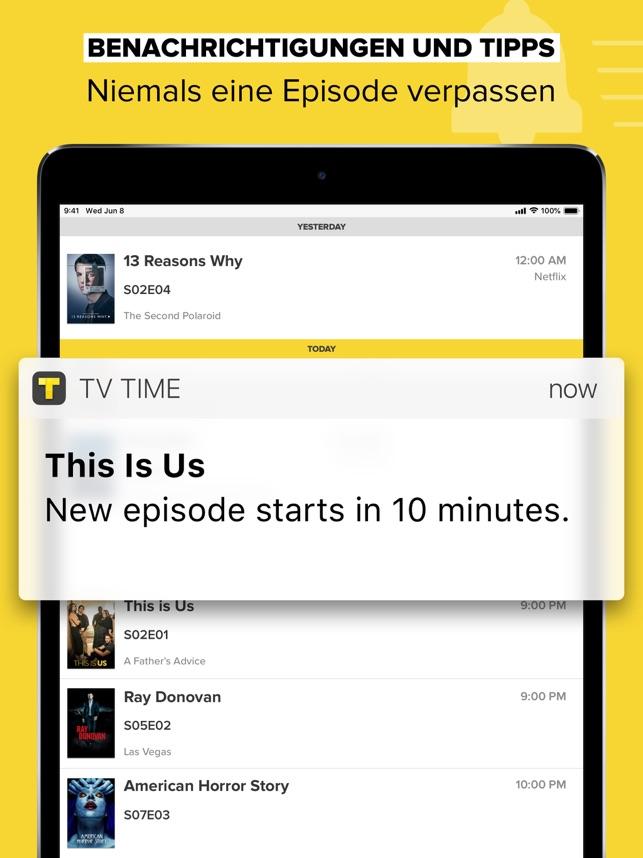 TVShow Time im Test: Beste App für TV-Serien-Junkies?