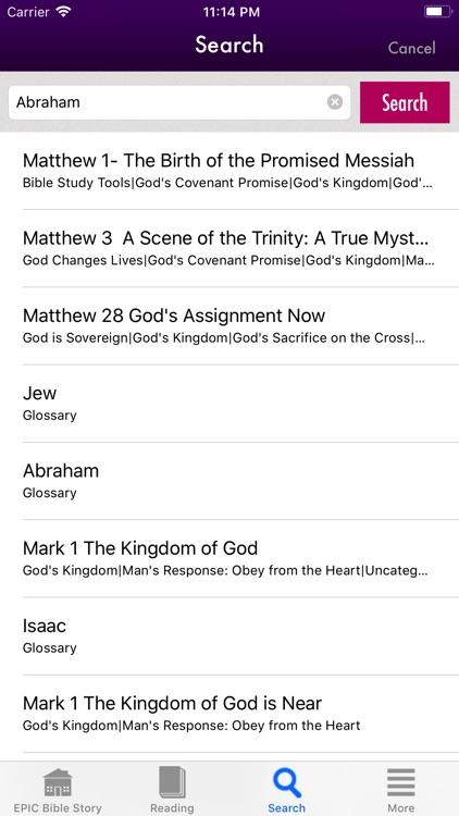 Epic Bible Story screenshot-4