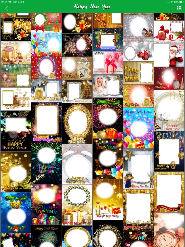 2019 Happy New Year Frames HD on the App Store