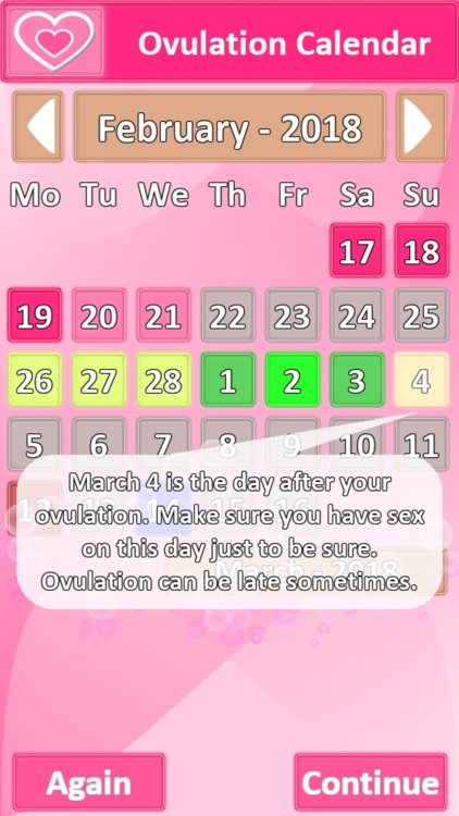 Ovulation Calendar screenshot-3
