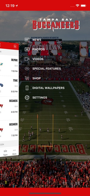 Tampa Bay Buccaneers Official On The App Store