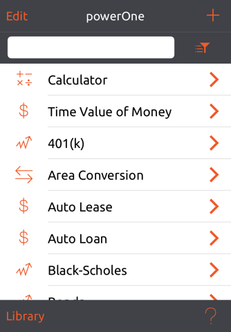powerOne Finance Pro screenshot 4