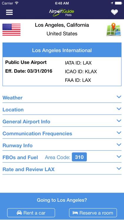 Airport Guide for Pilots screenshot-3
