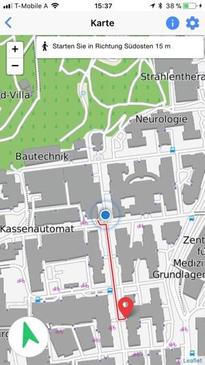 LKH Graz Map im App Store