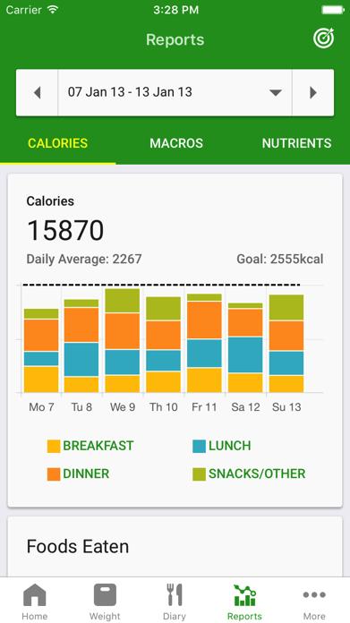 Calorie Counter by FatSecret Screenshot