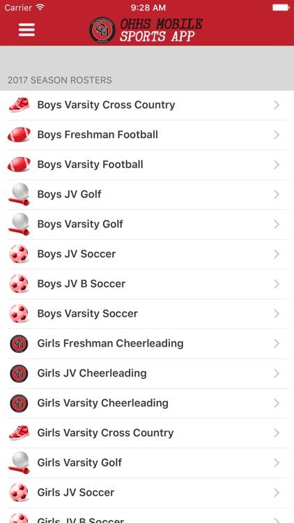 Oak Hills High School Mobile Sports screenshot-3
