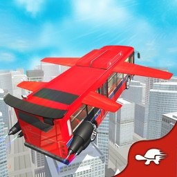 City Bus High Flying Simulator