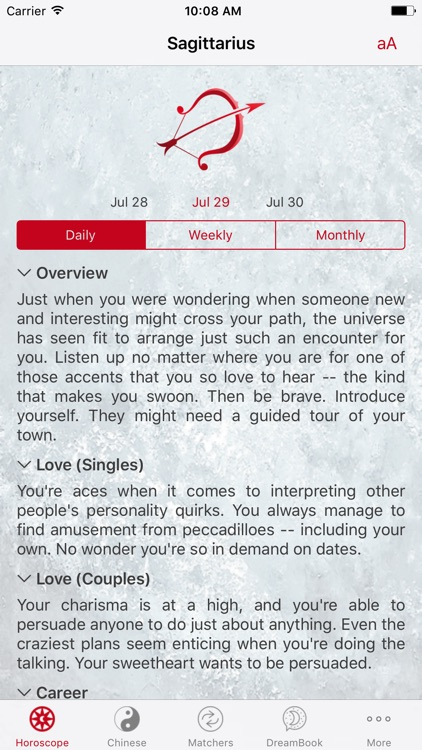 Horoscope Pro screenshot-1