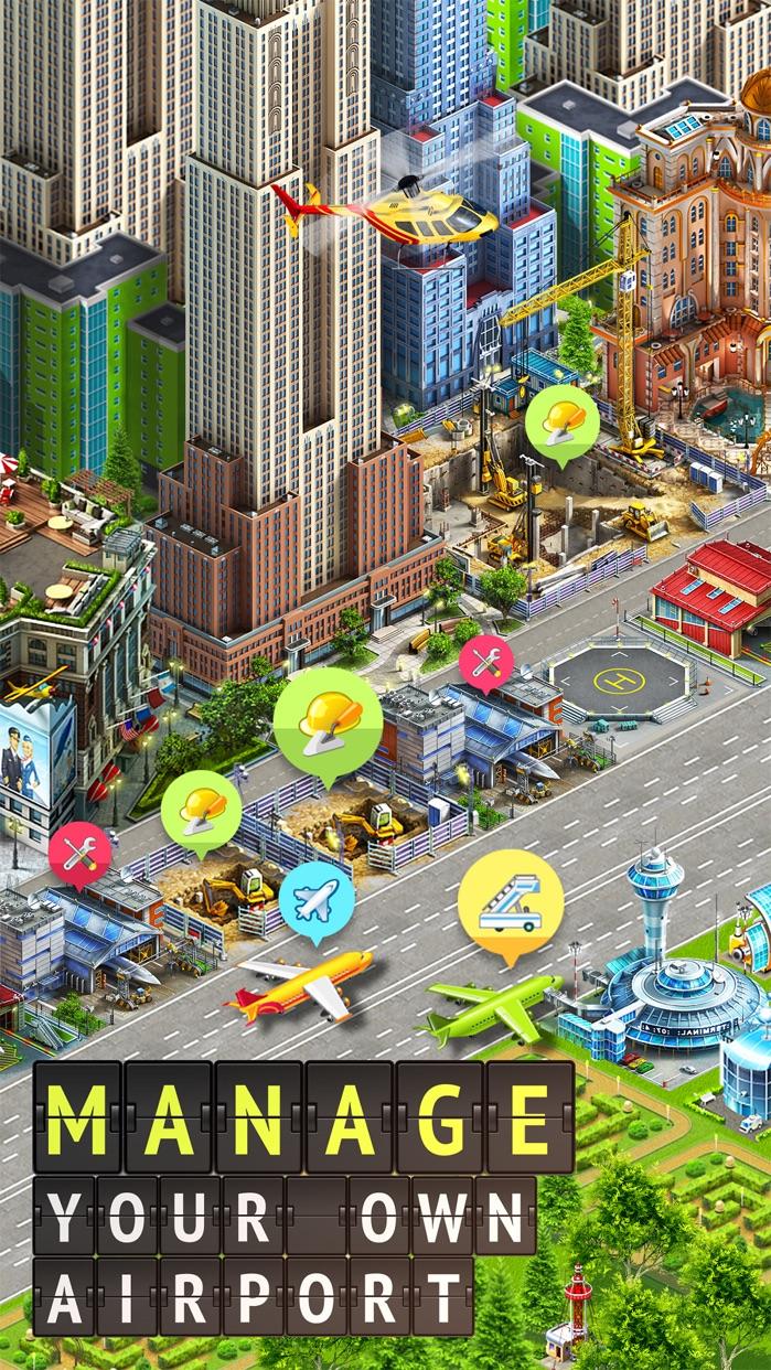 Airport City: Airline Tycoon Screenshot