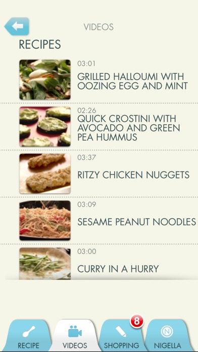 Screenshot for Nigella: The Quick Collection in Lebanon App Store