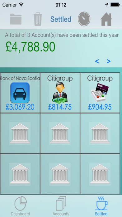 iCreditPit - 無債務與債務管理和整合屏幕截圖4