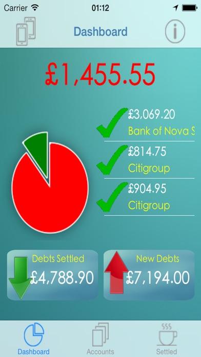 iCreditPit - 無債務與債務管理和整合屏幕截圖1
