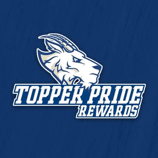 Topper Pride Rewards App