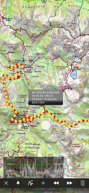 Iphigenie Maps Of France On The App Store