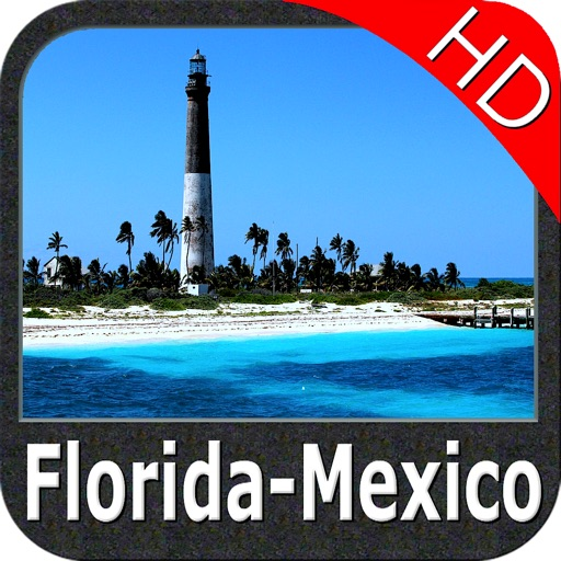 Marine : Florida to Mexico HD - GPS Map Navigator