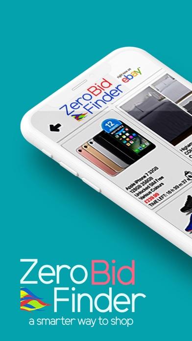 Zero Bid Finder for eBay Plus screenshot one