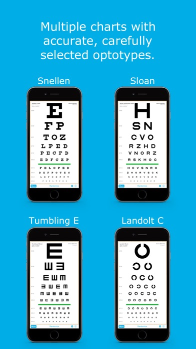 App Shopper: Eye Chart HD - Screen Vision (Medical)