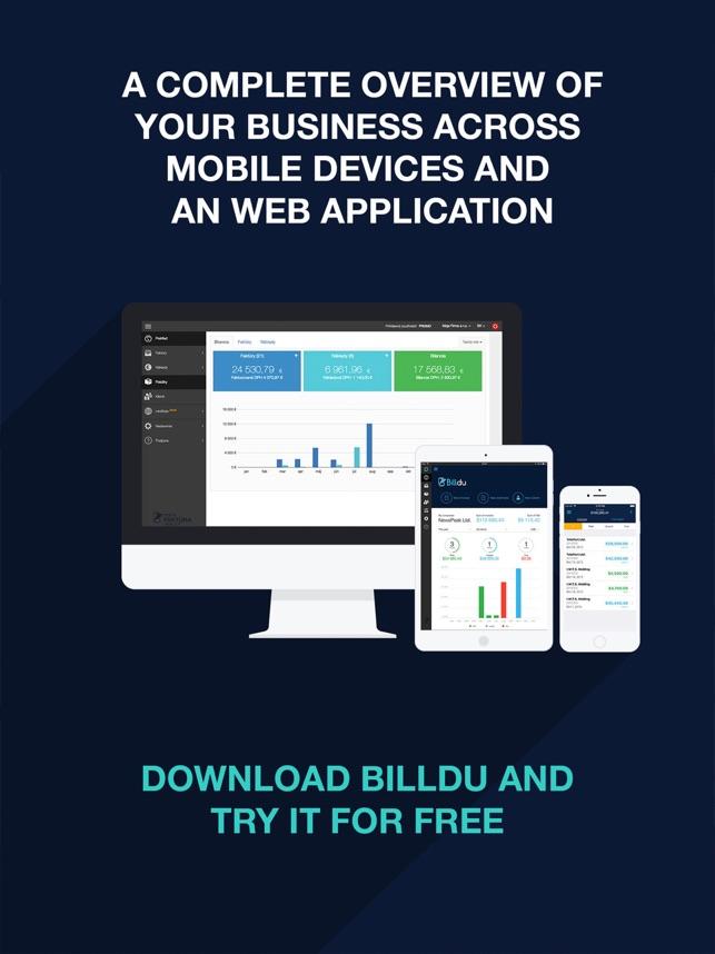 invoice maker billdu on the app store