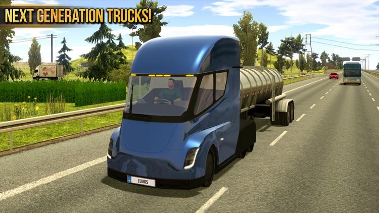Truck Simulator 2018 : Europe screenshot-4