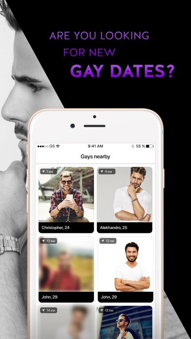 Gay Dating & Chat App - Target-0