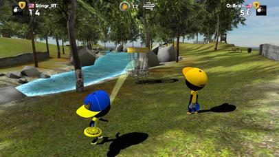 Screenshot 3 Stickman Disc Golf Battle