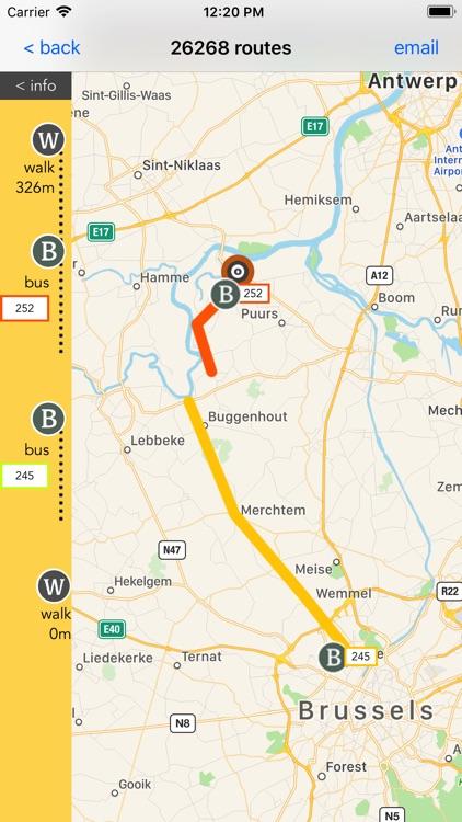Flanders Transport Guide screenshot-3