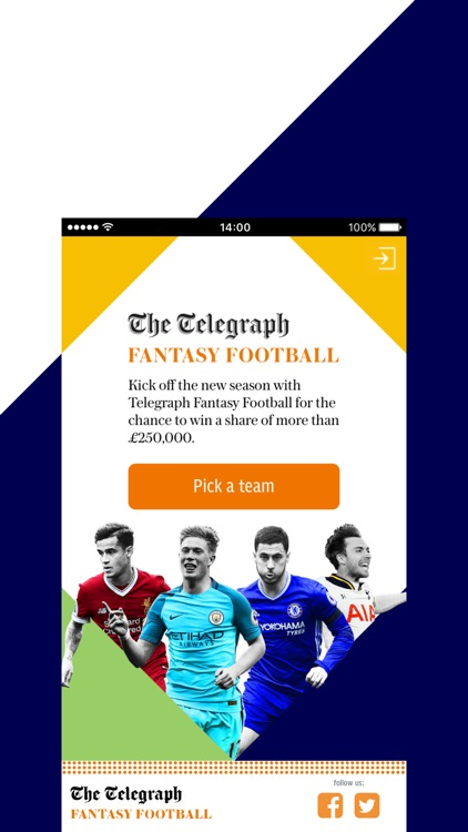 TFF: Pick and manage your Fantasy Football Team