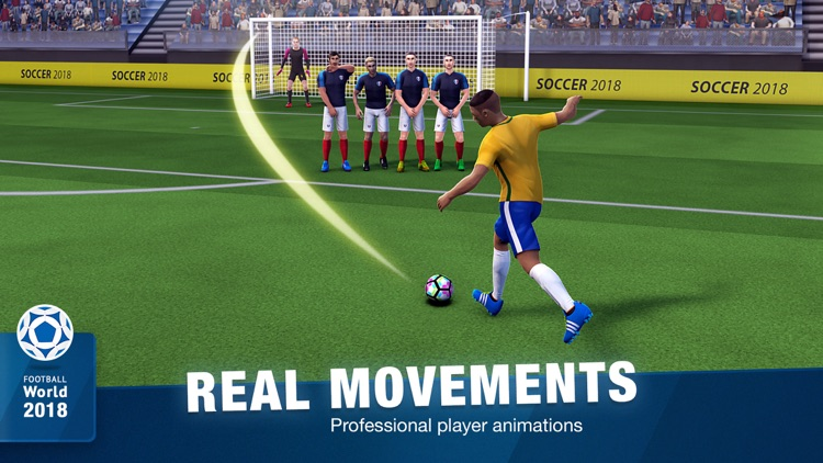 FreeKick Soccer 2018 screenshot-5