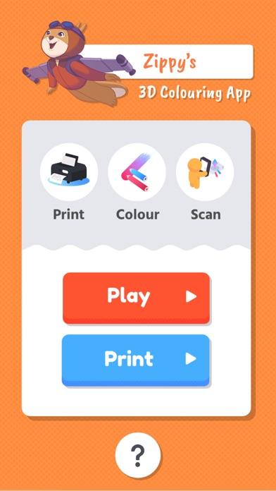 Zippy's 3D Colouring App screenshot three
