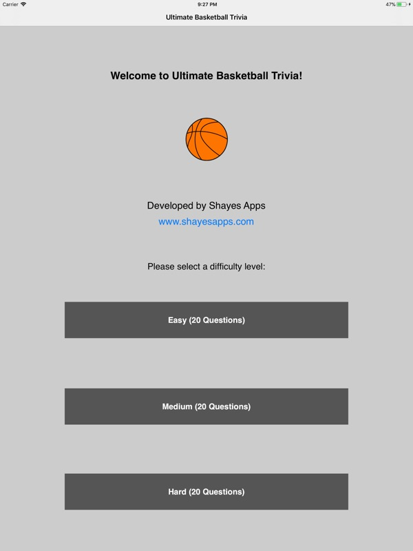 Ultimate Basketball Trivia - Online Game Hack and Cheat