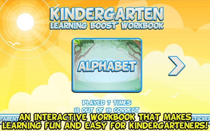 Kindergarten Learning Workbook screenshot 1