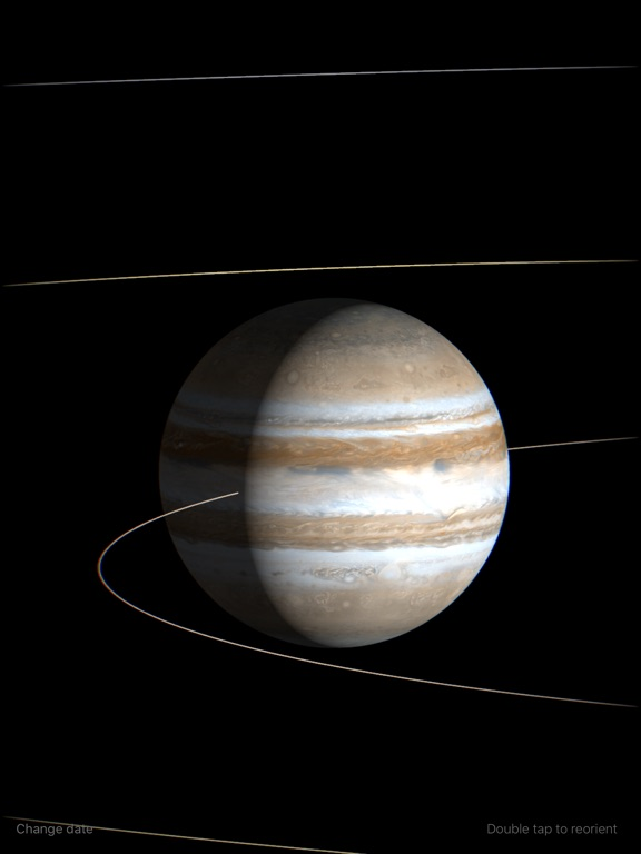 Planetary Clock Screenshots