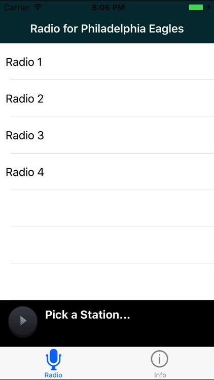 Radio for Philadelphia Eagles