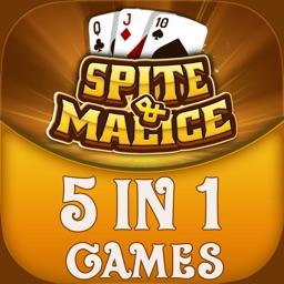 Spite & Malice - 5 in 1 Games