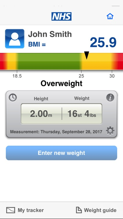 NHS BMI calculator screenshot-3