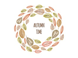 Autumn Greetings - Say it With Beautiful Stickers