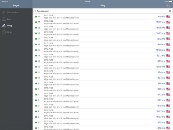 Network Analyzer iPad