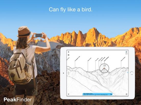 PeakFinder AR Скриншоты10