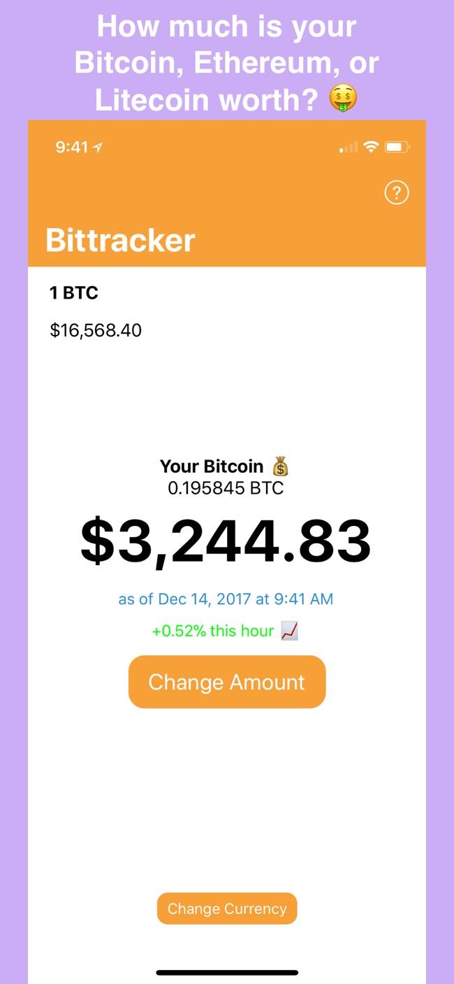 Bittracker – Wallet Tracker Screenshot