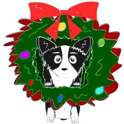 Cute Corgi Christmas