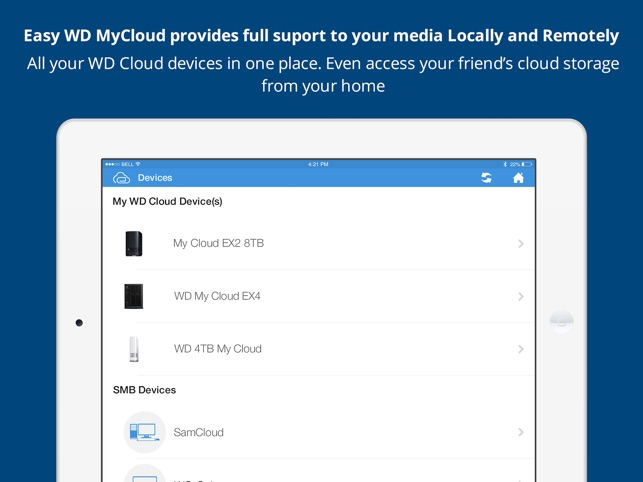 ‎EasyCloud for WD My Cloud