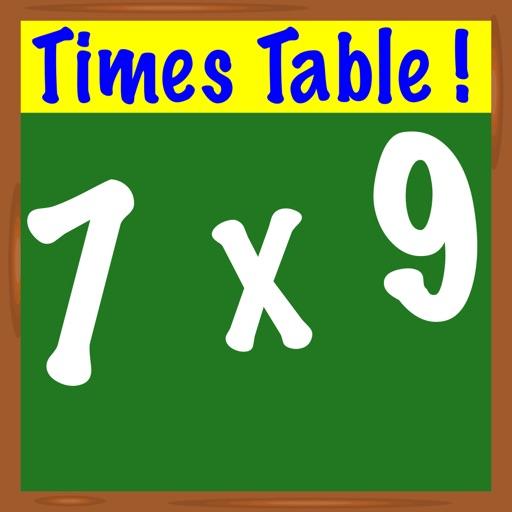 Times Table ! iOS App
