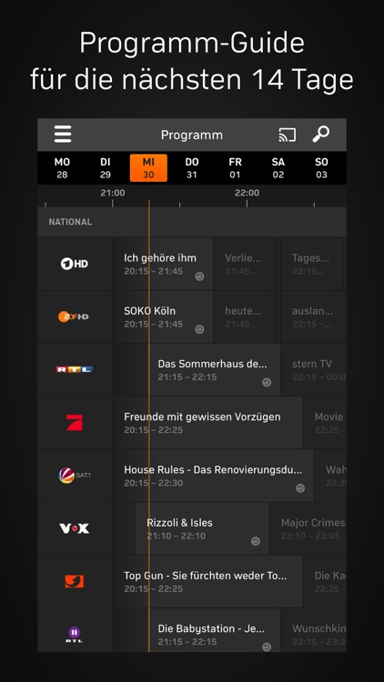Zattoo - TV Streaming screenshot-3