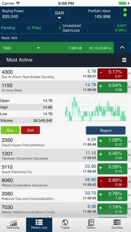 Tadawul Trading Simulator screenshot-3