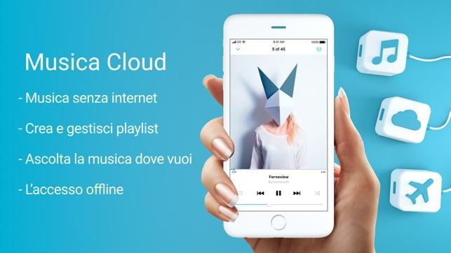 musica e ascolta offline iphone