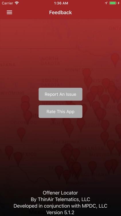 Offender Locator Lite screenshot-5