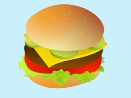 This sticker pack is full of hamburger stickers for you to share with family and friends