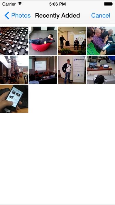 Aurigma Up Screenshot on iOS