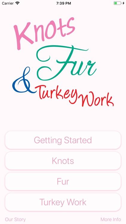 Knots, Fur & Turkey Work
